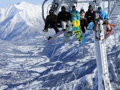 ski gliss isola